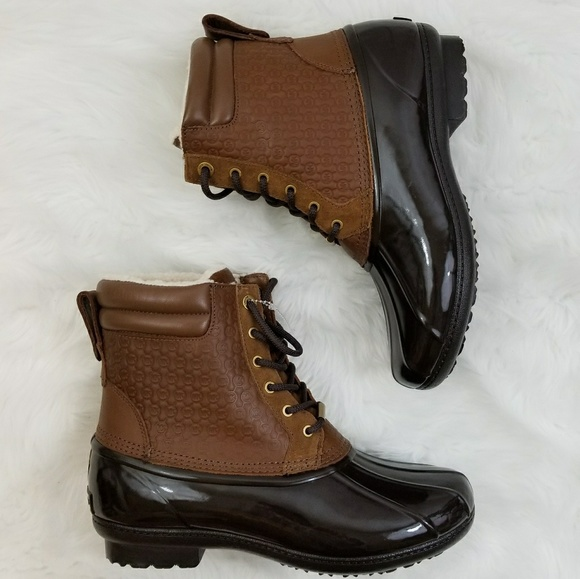93a6eb8db099 Michael Kors Easton Bootie Short Ducks Boot. M 5a504a6f9d20f06c20024c8e